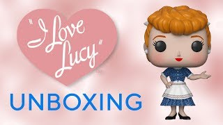 I Love Lucy Pop! Unboxing!