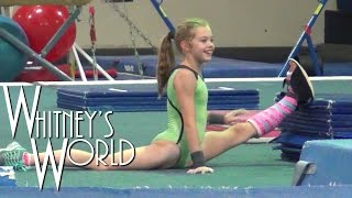 Gymnastics in a Leg Cast | Castnastics | Whitney
