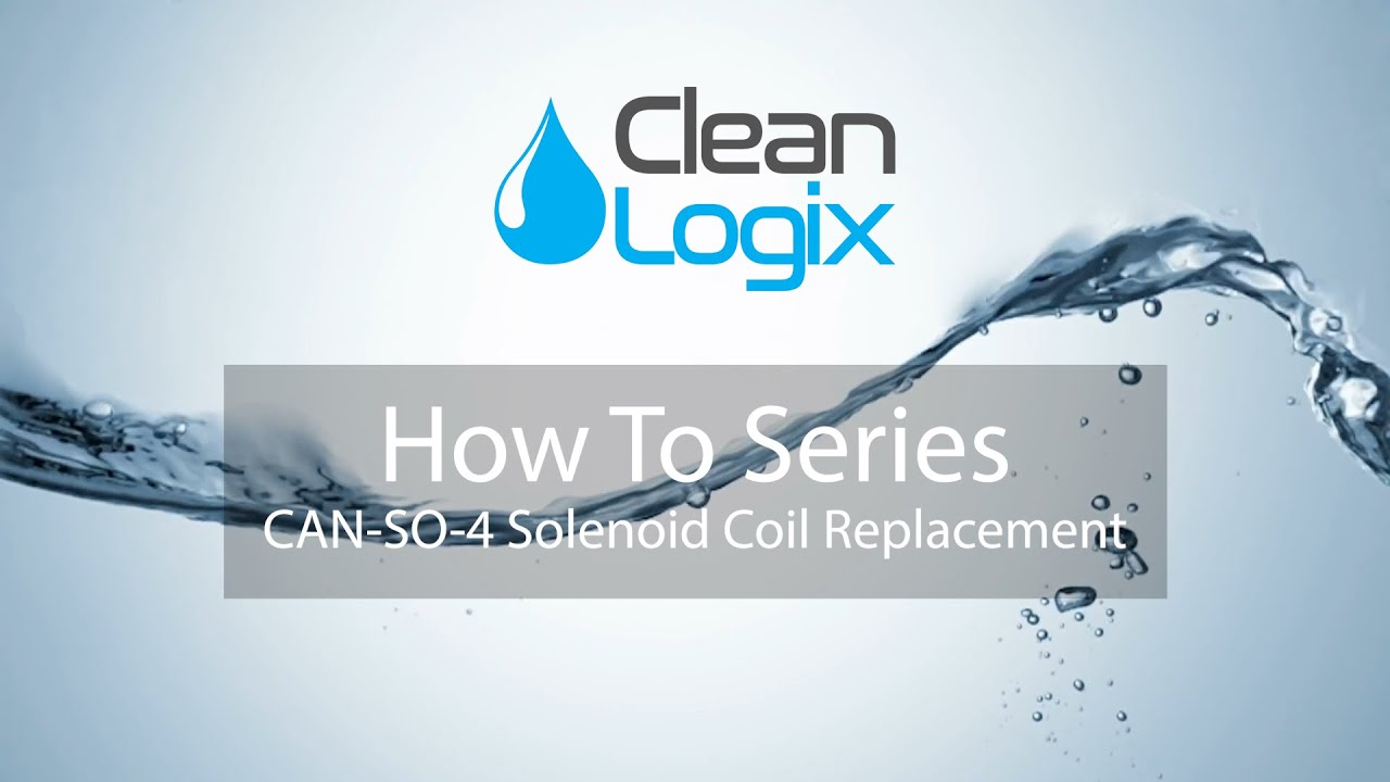 How To Replace Solenoid Coil on a CAN-SO-4