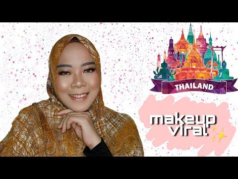 Tutorial Makeup Thailand Yang Lagi hitzzzz - YouTube#makeup #makeuptutorial #makeupthailand #beauty