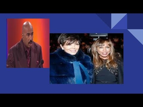 STEVE HARVEY MAYBE FACING $400M DIVORCE WITH MARJORIE BECAUSE OF KRIS JENNER