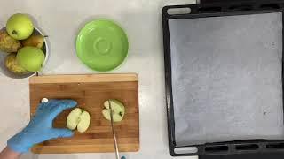 Запечённые яблоки и груши