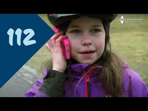 Lapsi soittaa 112
