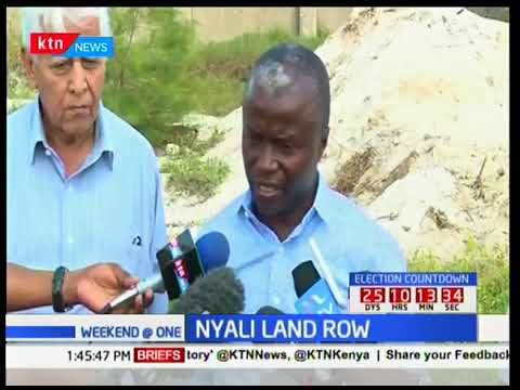 A family in Nyali accuses Mombasa County of colluding with Autoport freight ltd to grab their land
