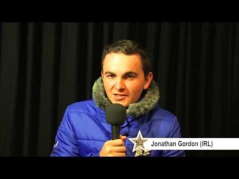 Portrait Jonathan Gordon (IRL) EyCup 2013 World Finale Salzburg Arena