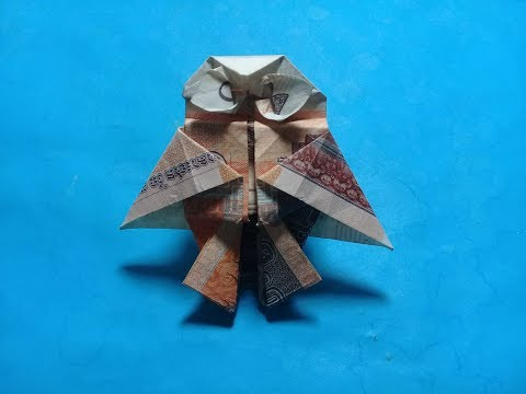 How tomake Origami Dollar Bill Owl