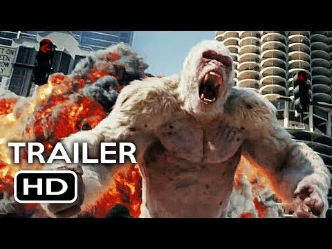 Thumbnail: Rampage Official Trailer #1 (2018) Dwayne Johnson Monster Action Movie HD