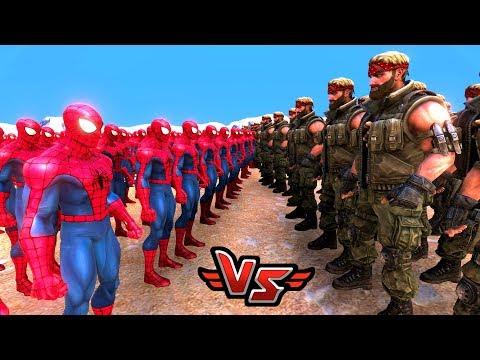 ÖRÜMCEK ADAM VS CHUCK NORRIS 😱 - Süper Kahramanlar