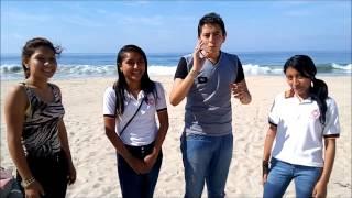 "liberación de tortugas ""Encuentro de secundarias"" ""Quechultenango Guerrero"""