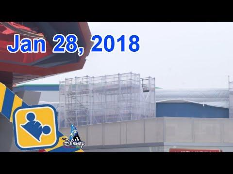 Construction Update: MARVEL Themed Attraction | Hong Kong Disneyland (Jan 28, 2018)