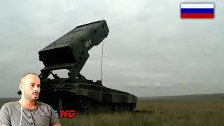 REACTION TO TOS-1A Solntsepyok - 220mm MLRS Multiple Rocket Launcher