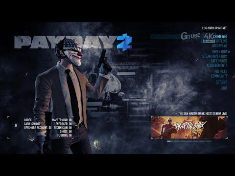 PAYDAY 2 - San Martin Bank Heist DLC - Game Play [영문판 게임플레이] |