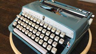 TypewriterMinutes - Typewriter Review: 1964 Brother De Luxe