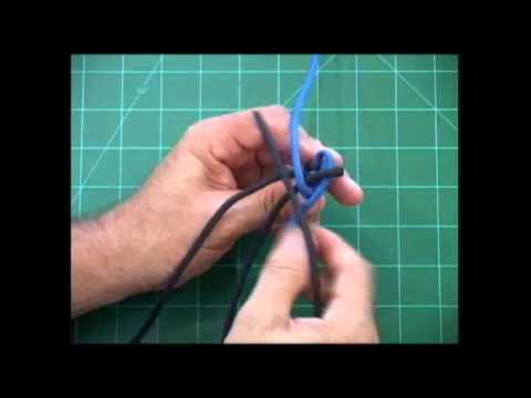 The Paracord Weaver: How To - Crown Sennit / Round Crown Sennit