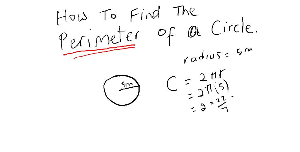 Cxc csec maths how to find the perimeter of a circle act math cxc csec maths how to find the perimeter of a circle act math sat math ccuart Image collections