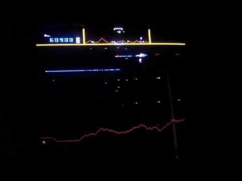Defender arcade game - 909K on hardest settings