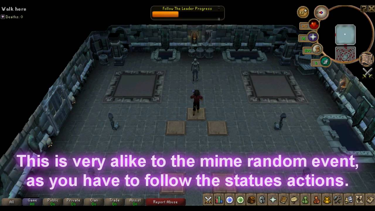 Dungeoneering Puzzle Follow The Leader