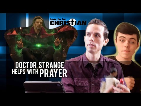 Doctor Strange Helps with Prayer