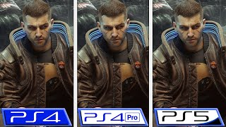 Cyberpunk 2077 | PS4 – PS4 Pro – PS5 | Graphics & FPS Comparison