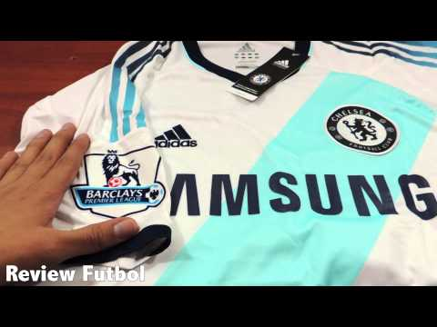 Unboxing y Revisión Camiseta Chelsea Visitante 12-13 Español Full HD