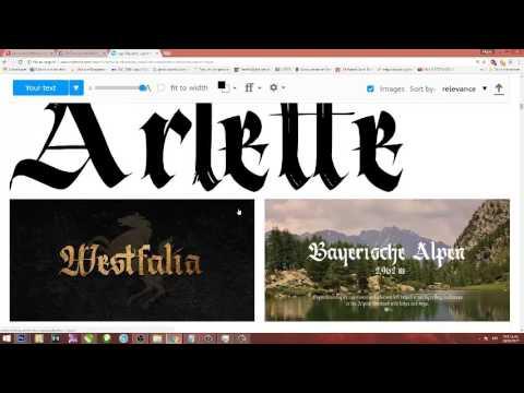 Utilizar tipografias de MYFONTS en nuestros proyectos GRATIS