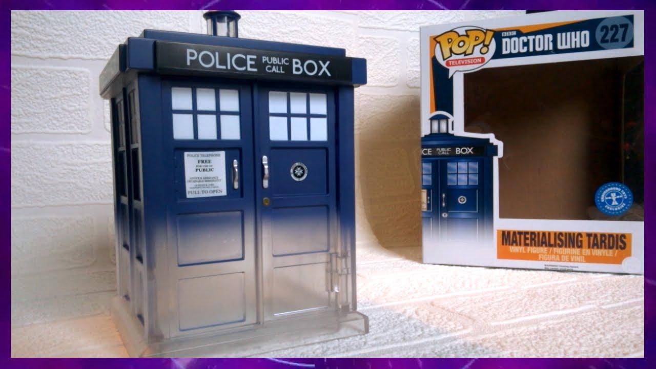 Dr Who Funko Pop Materialising Tardis Underground Toys