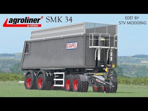 Farming Simulator 17 Presentazione Agroliner SMK 34 + Siga Uno & Siga Duo Edit by STV Modding
