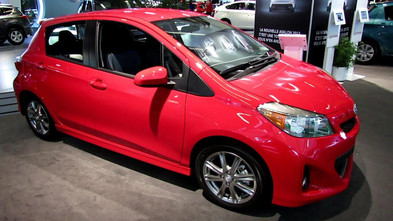 2013 Toyota Yaris Hatchback SE Exterior And Interior