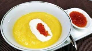 Очень Нежный и Вкусный Тыквенный Суп Пюре со Сливками Рецепты моей кухни