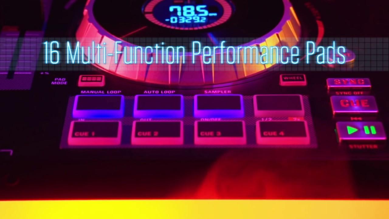 hight resolution of numark numark mixtrack platinum dj controller with serato dj intro software vinyl at juno records