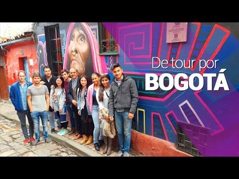 De tour por Bogotá con los estudiantes internacionales