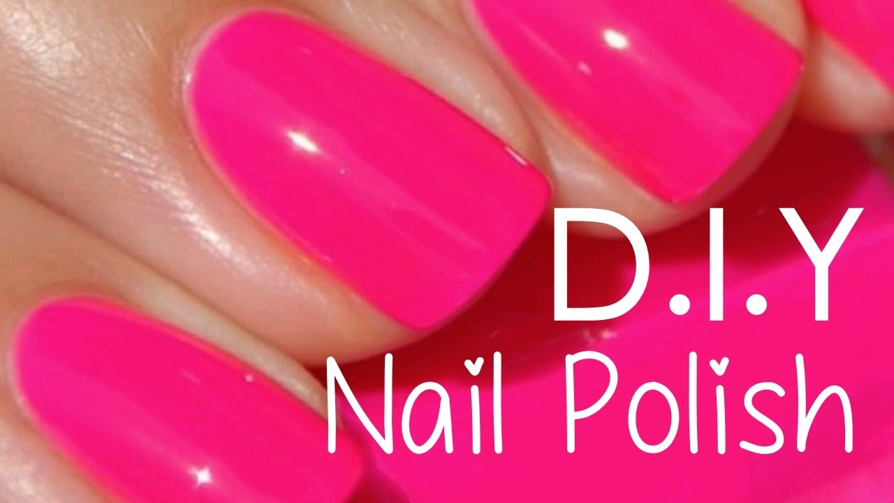 Make your own nail polish?!!! DIY - YouTube