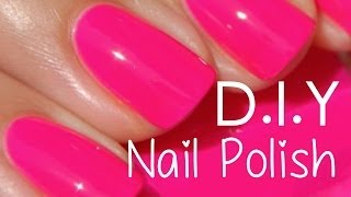 Make your own nail polish?!!! DIY