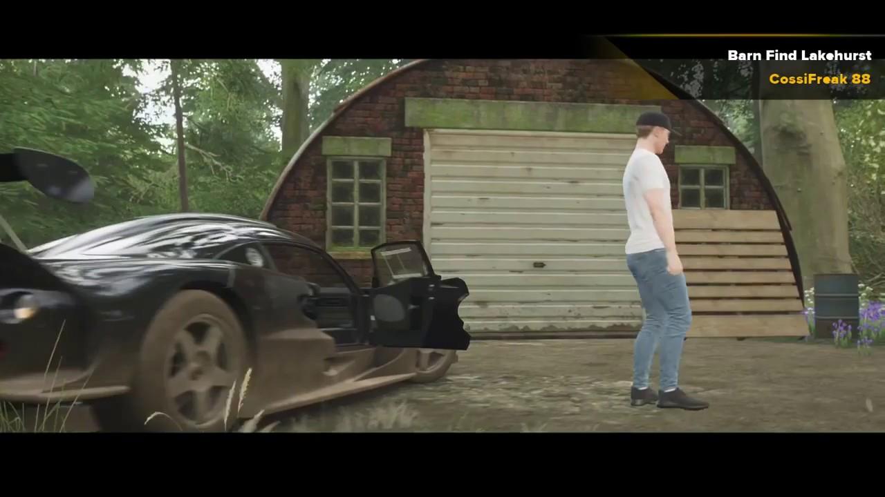 Forza Horizon 4 Barn Find Lakehurst Forest Youtube