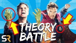 Hulk Is A Giant Baby Skrull VS Doctor Strange's Sneaky Tactics | THEORY BATTLE