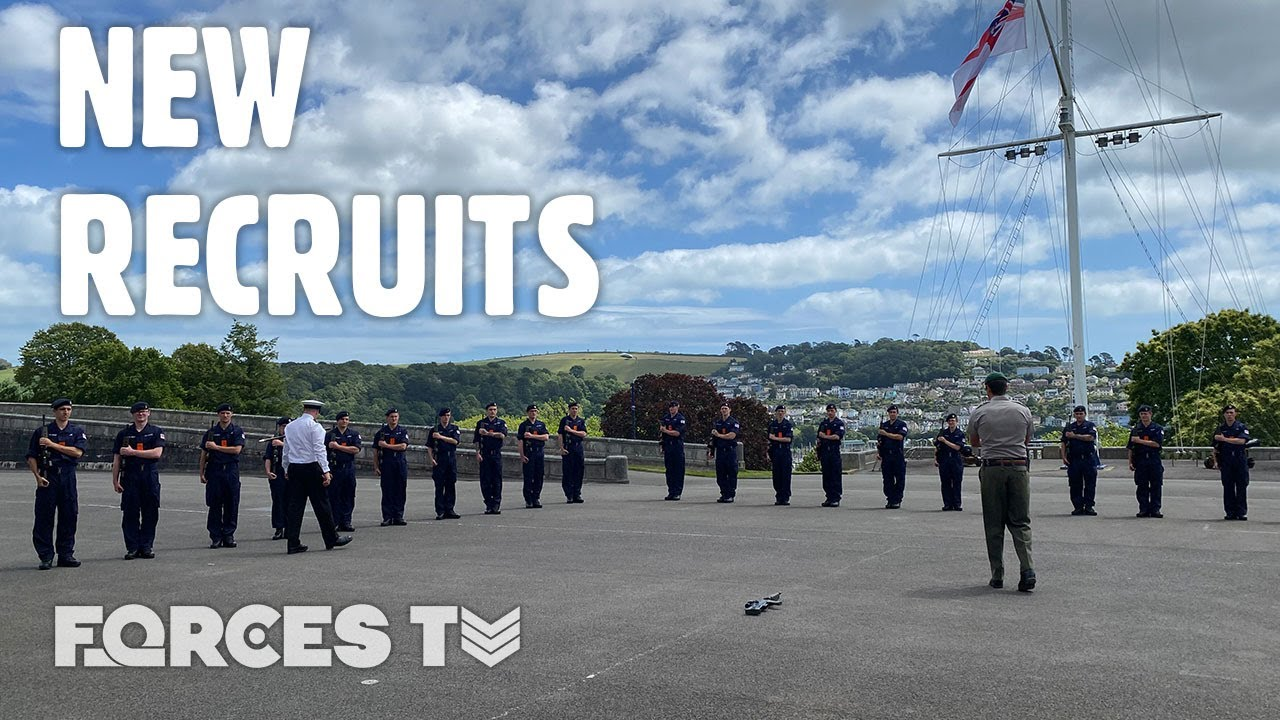 Meet The FIRST EVER Navy Ratings To Do Basic Training At Dartmouth | Forces TV