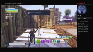 I have to save the world! Suso646 live on FORTNITE