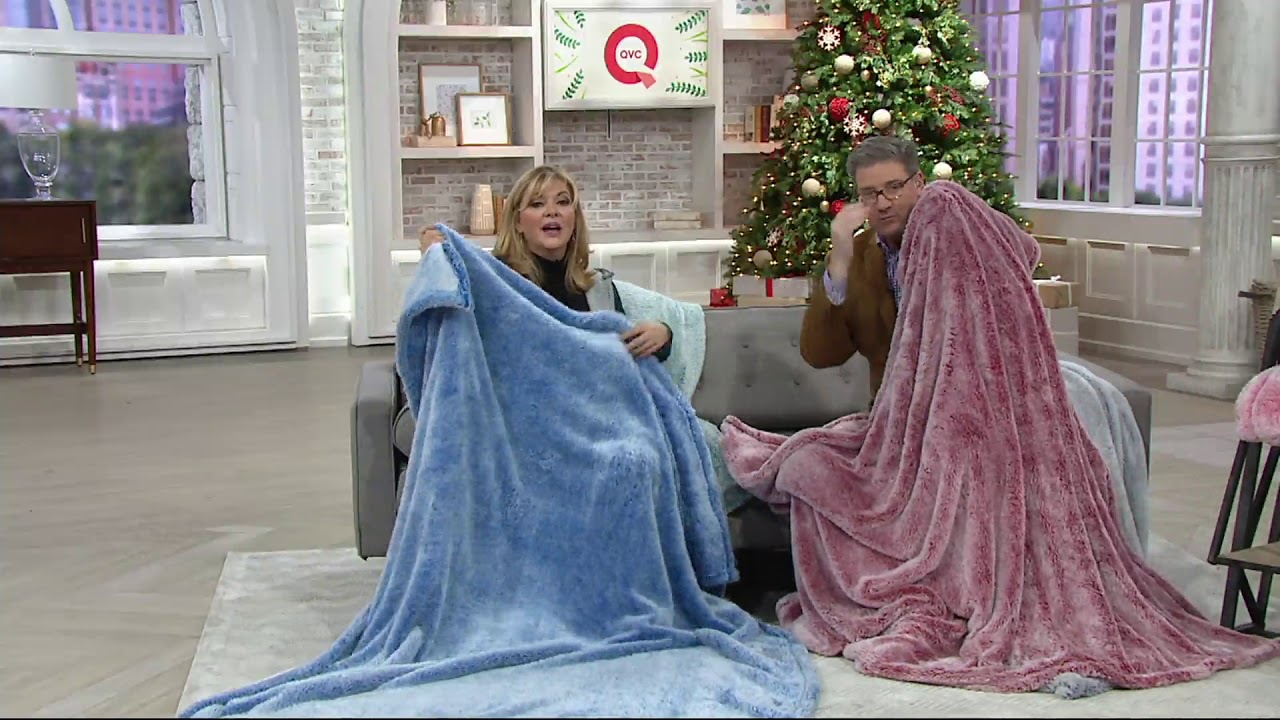 Berkshire Blanket 60 Quot X 80 Quot Frosted Tipped Fluffie Throw