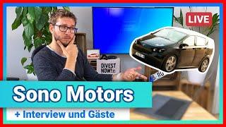 Robin LIVE 🔴Sono Motors - lasst uns reden!