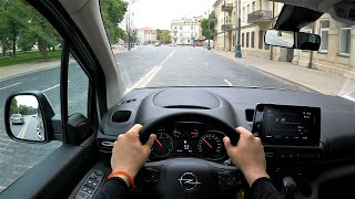 Opel Combo Life Comfort 130hp POV test drive.  GoPRO test drives.  Opel Combo road test.