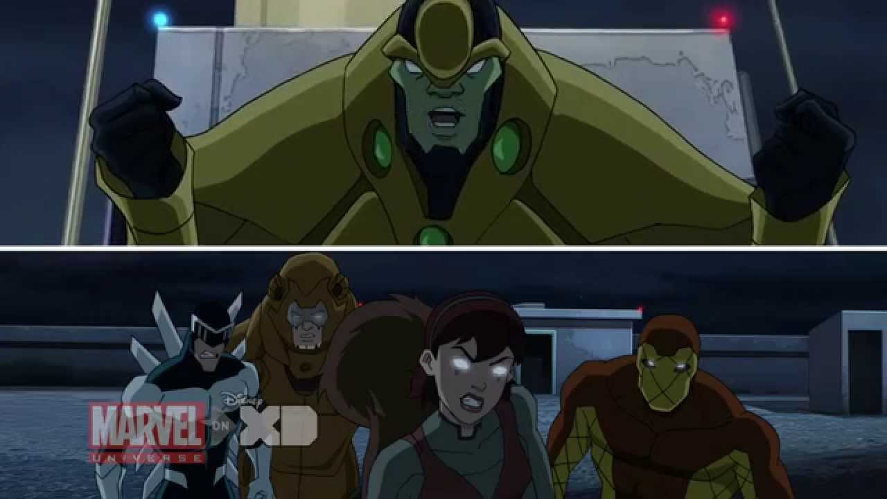 Ultimate spider man web warriors squirrel girl - photo#23