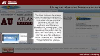 How to use the Virtual Library Portal