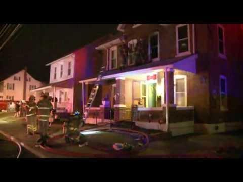 02.14.12 - HOUSE FIRE W/ ENTRAP; Whitehall, PA