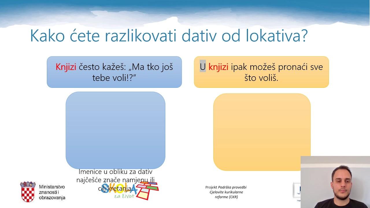 Hrvatski padezi na engleskom, Szemölcsök nőkben, ahogy továbbítják