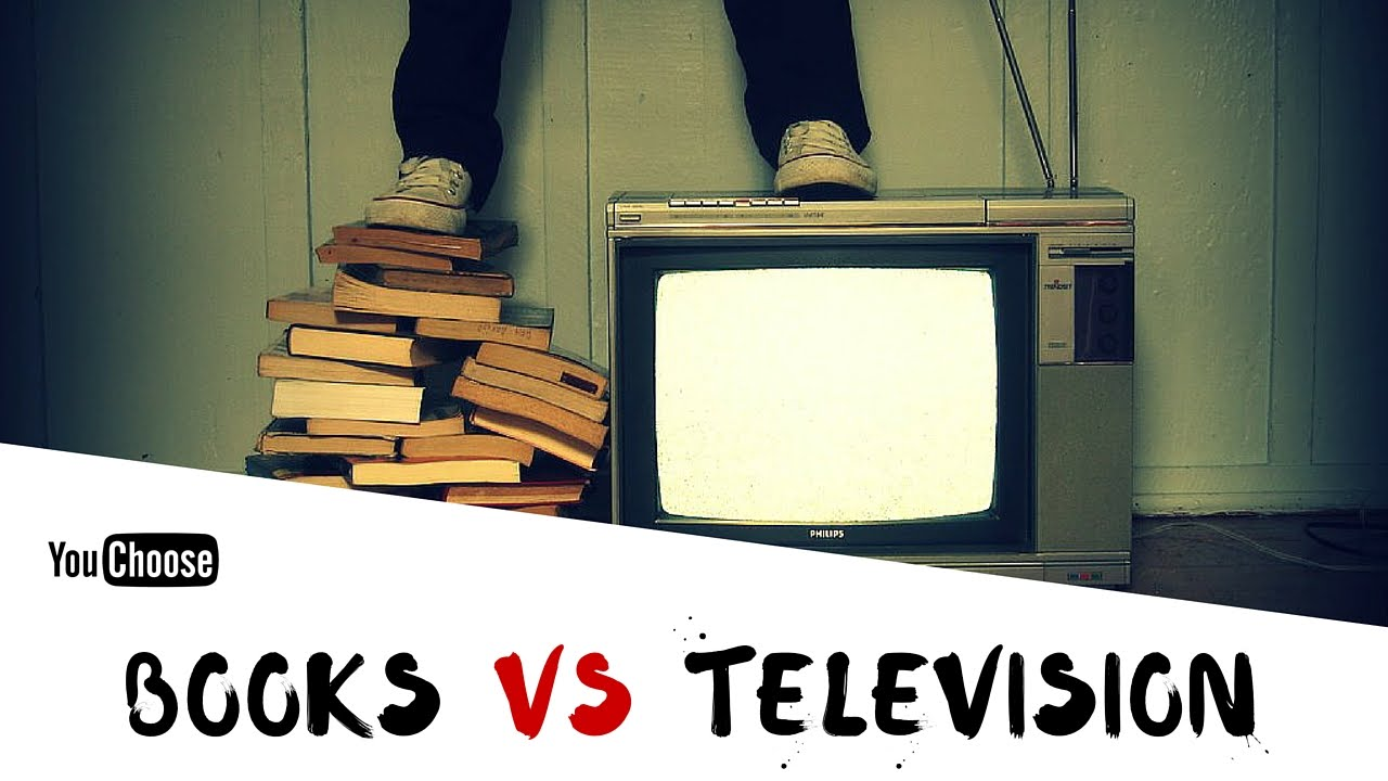 tv vs books essay Hello everyone, can anyone help me to correct my essay books vs movies (capitalize both words) there are different ways to get a story from different sources in modern times.