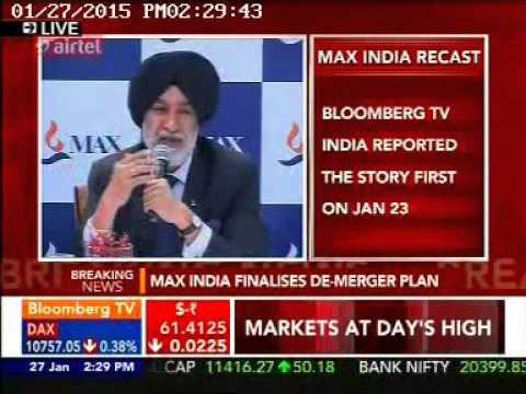 Bloomberg TV India  Press Briefing