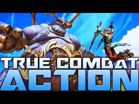 True action combat mmorpg games