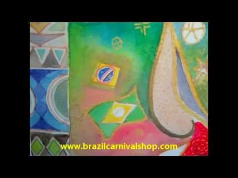 Affordable Art Brazilian art: Brazilian Painter Watercolors Print