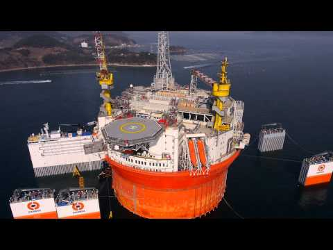 Goliat FPSO Arrival Norway
