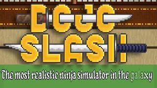 DOJO SLASH | Retro Ninja Simulator Review - iOS App Gameplay (iPhone, iPad)